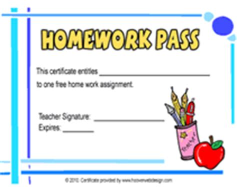 holiday homework pass printable-Demcocbs Fouilles